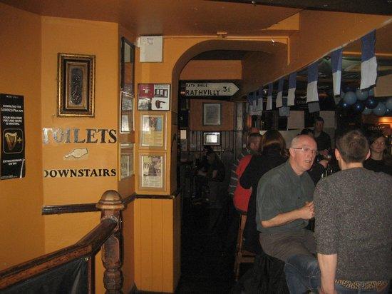 Doyle's Pub: Jacks downstairs