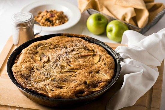 German apple pancake at Applewood Inn