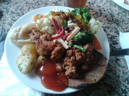 Hotel Riu Tikida Garden: First day had the best food