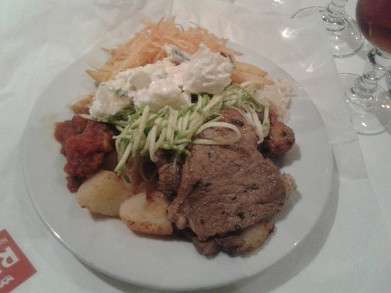 Hotel Riu Tikida Garden: Food - meat was a bit too chewy
