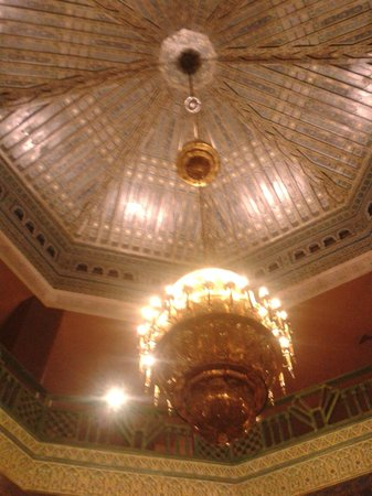 Hotel Riu Tikida Garden: The amazing ceiling