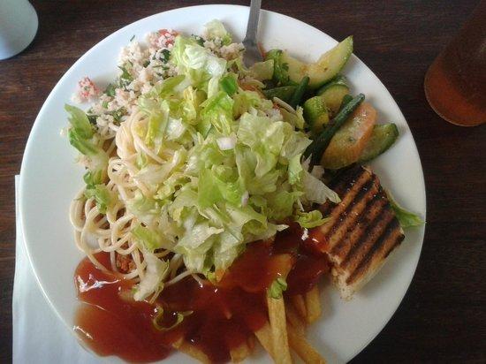 "Hotel Riu Tikida Garden: This was the ""snacks"" menu - great choice!"