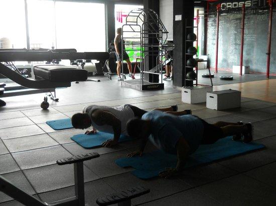 Evolve Fitness Center: si lavora
