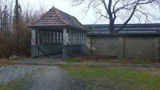 Stalag Luft III Prisoner Camp Museum: Back Entry to Zagan sation