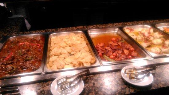 Silken Al-Andalus Palace Hotel : buffet de cena