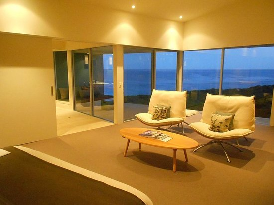 Southern Ocean Lodge: ma chambre...