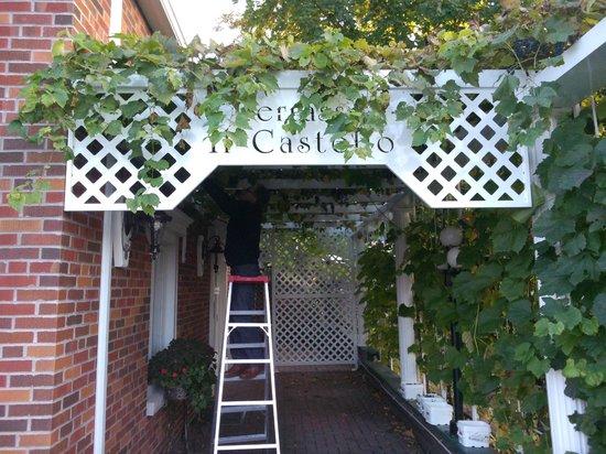 Restaurant Castello-Sweetsburg: la pergola
