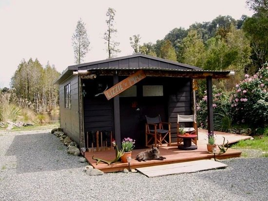 Hurunui Jacks : The cottage accommodation - 'The Nest'