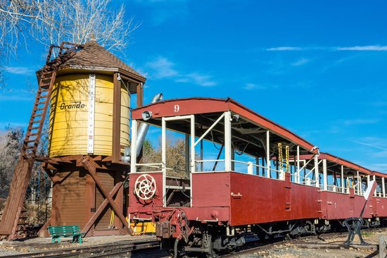 Colorado Railroad Museum: Excursion Car and Water Tank