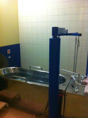 Kurhaus Diamant: mineral bath