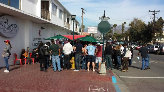 La Guerrerense: Yes, this is the taco stand.  Easy to walk by and miss, like I did!