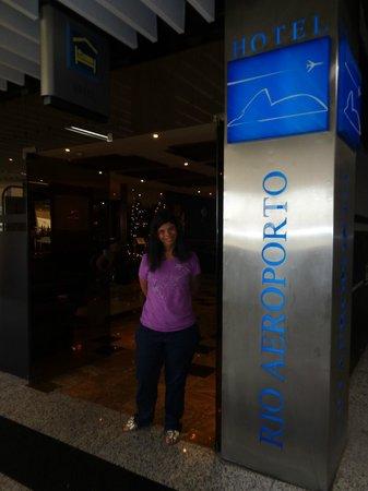 Rio Aeroporto Hotel : Dentro do Galeão