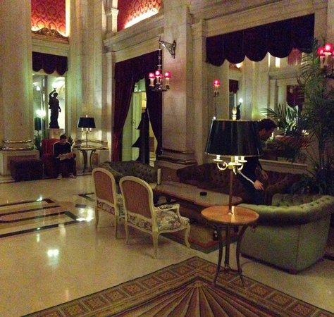 Hotel Avenida Palace: Salon (fumeur)