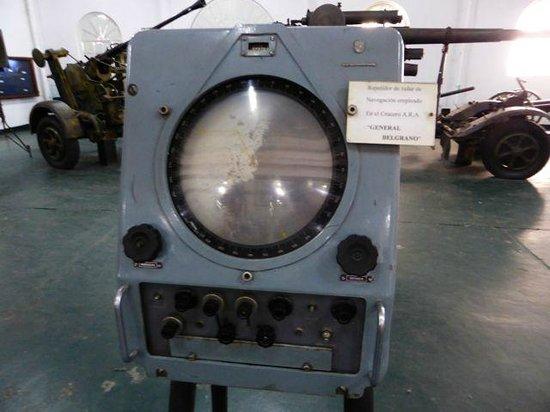 Museo Naval de la Nacion: Naval Museum - Belgrano radar
