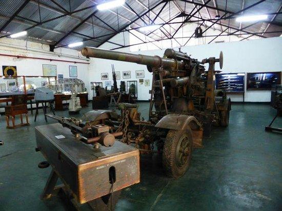 Museo Naval de la Nacion: Naval Museum - Mad Max machinery