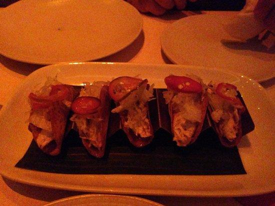 Alma de Cuba : Smoked tuna tacos