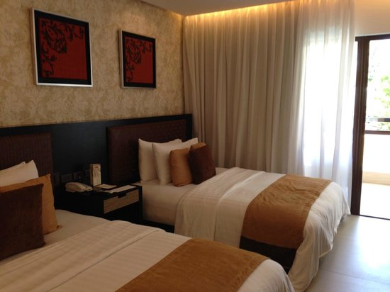 The District Boracay: Deluxe room