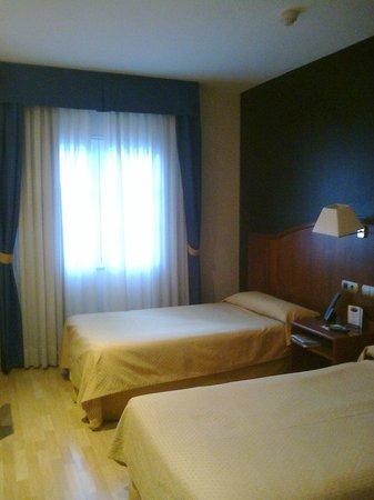Hotel Ponferrada Plaza: Habitación doble estándar.