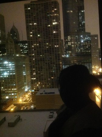 Homewood Suites by Hilton Chicago-Downtown: Night view 2