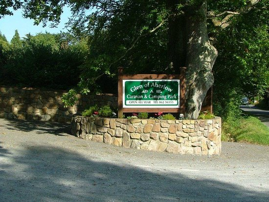 Glen of Aherlow Caravan & Camping Park: relaxing setting