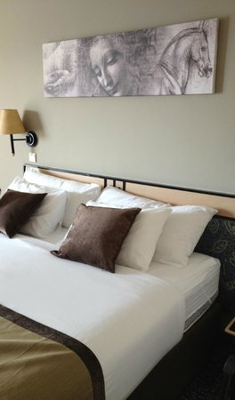 Leonardo Plaza Hotel Eilat : В номере (анатомическая кровать с прекрасным матрасом)