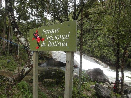 Pousada Recanto da Vovo: Foto tirada às margens da Cachoeira do Escorrega - Vila da Maromba, Itatiaia R.J
