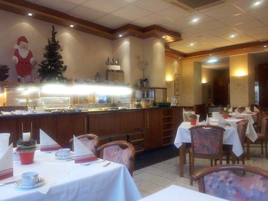 Hotel Ilbertz: Buffet