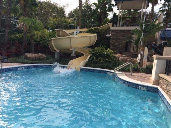 Hyatt Regency Orlando: water slide
