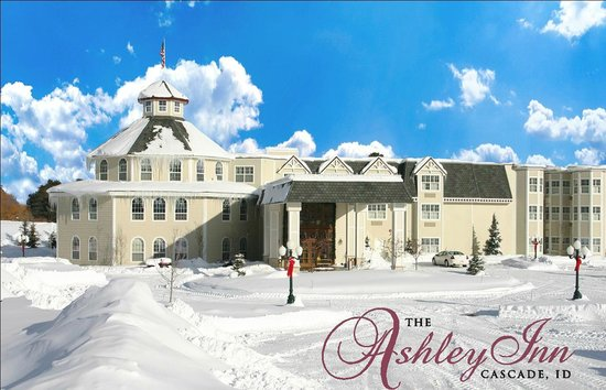 Blue skies, crisp air and warm & cozy inside the Ashley Inn