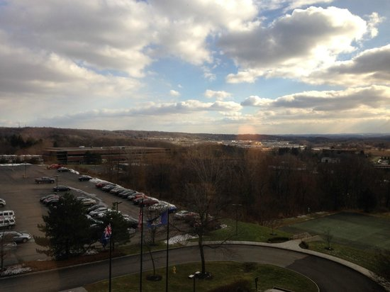 Woodcliff Hotel and Spa: Morning view from the 6th floor.