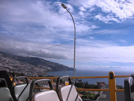 Yellow Bus Tours Funchal : best view from the bus