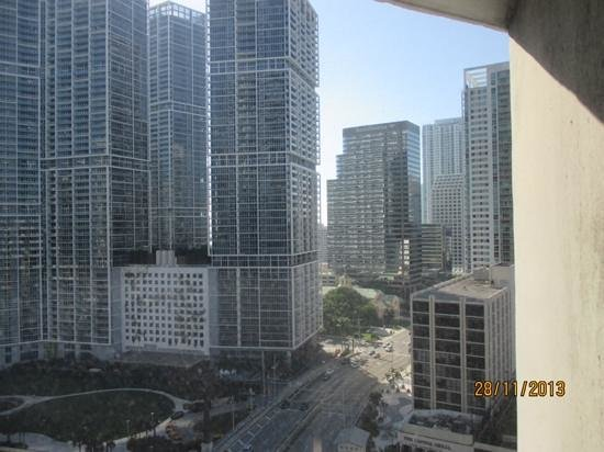 Hyatt Regency Miami: vista dalla Metromover