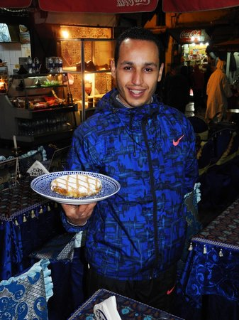 Chez Rachid: Mohammed, the waiter.
