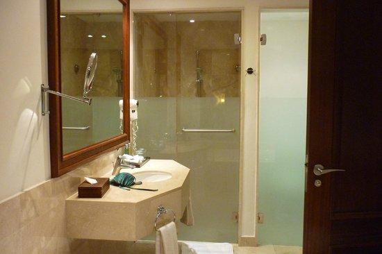 Now Larimar Punta Cana: baño