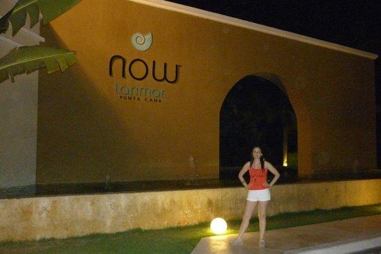Now Larimar Punta Cana: entrada