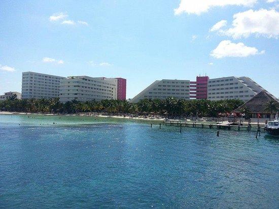 Grand Oasis Palm: Hotel OASIS PALM vista do mar