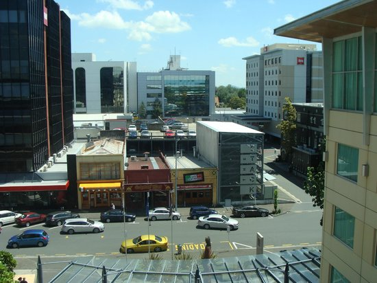 Novotel Hamilton Tainui: City view