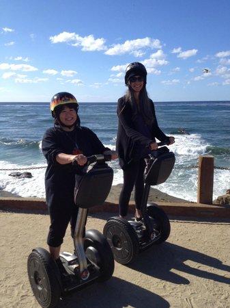 We Love Tourists: Having fun on our Segways!