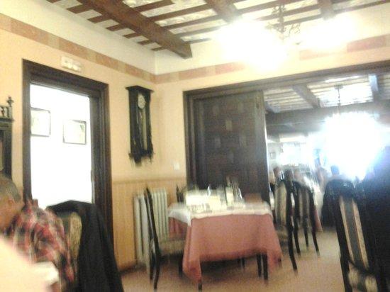 Hostería de Los Palmeros: Interior del restaurante.