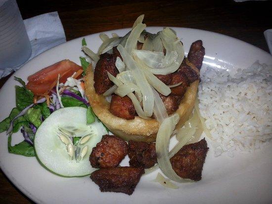 Cafe Puerto Rico: Pork Mofongo