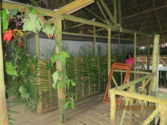 Amazonia Expeditions' Tahuayo Lodge: Special Jungle Birthday Decorations