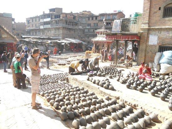 Cosy Hotel: pottery square