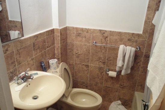 Starlite Hotel : Baño