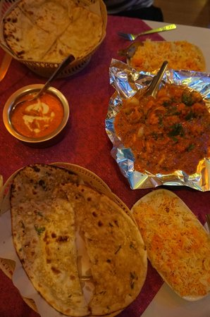 Bombay Palace: Great food