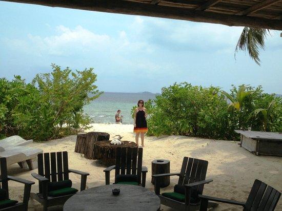 Pulau Pangkil: Main house area