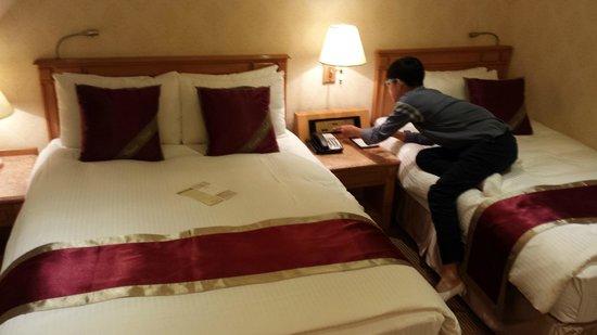 Cosmos Hotel Taipei: family room