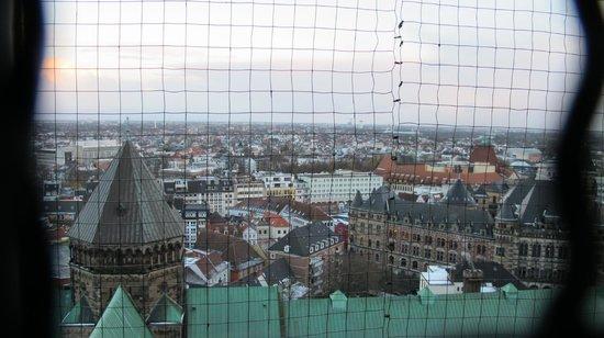 St. Peter's Cathedral (St. Petri Dom): vista desde lo alto de la torre