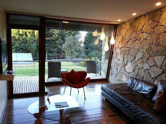 Rochester Hotel Bariloche: Excelente decoración.