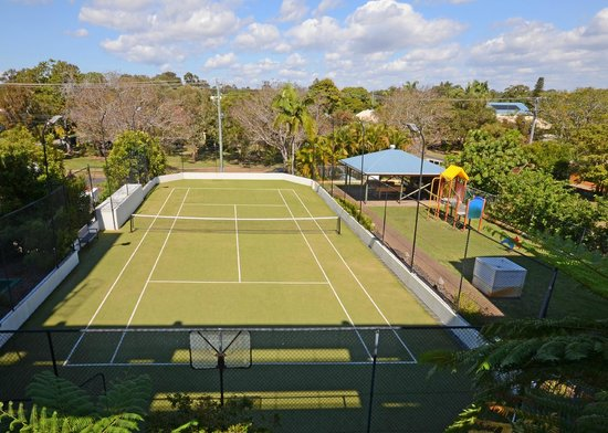 Riviera Resort : Have a hit on our full sized court (racquets and balls can be hired from reception)