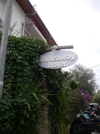 Hideaway Hotel: from street perspective